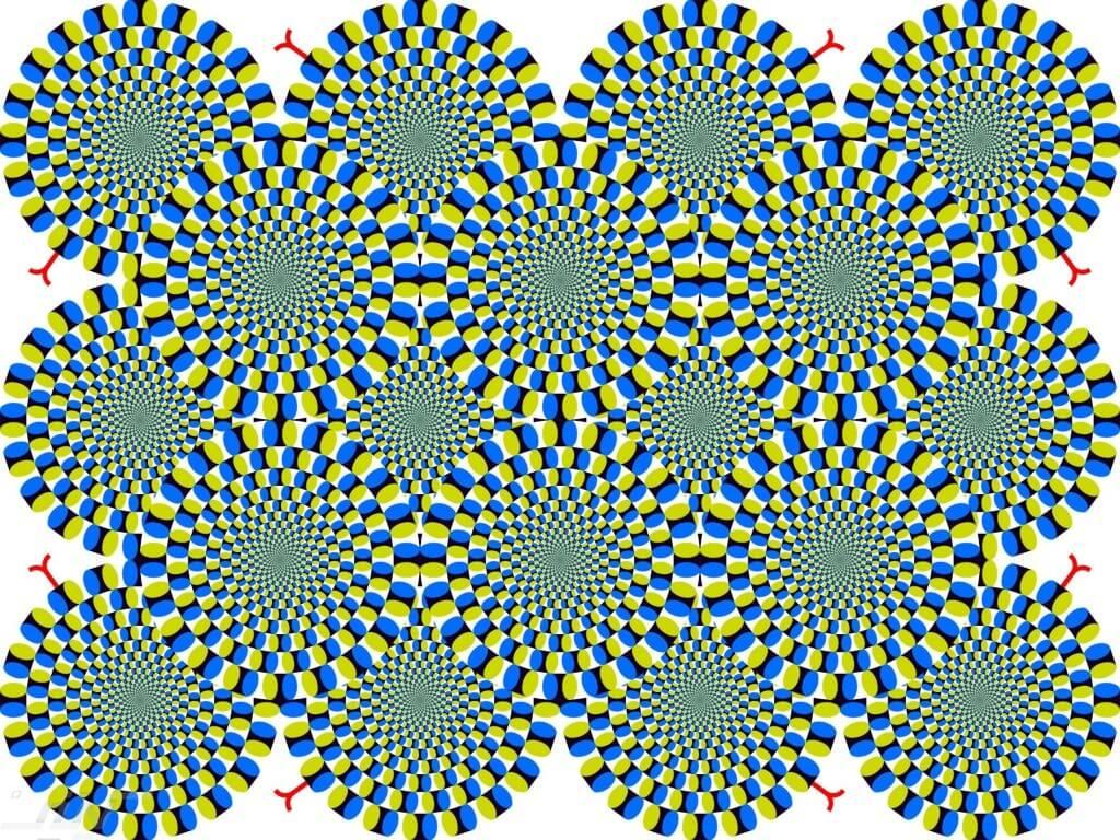 Moving Eye Illusions