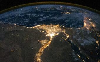 كيف تبدو عواصم الدول العربية من الفضاء؟ صور رائعة من محطة الفضاء الدولية