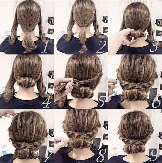 roll-long-hair-style