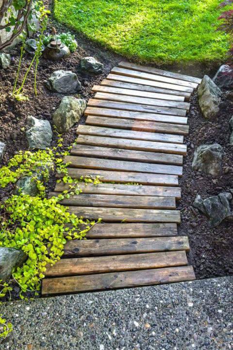 أفكار مميزة لكي تعطي الحديقة path.jpg