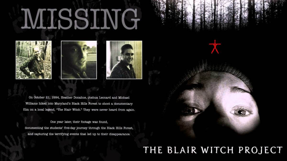 The-blair-witch-project-1999 أفلام رعب